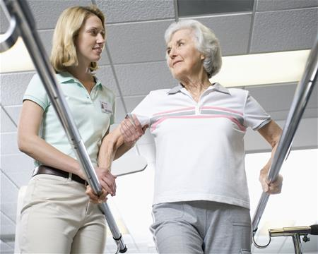 Physiotherapy after stroke