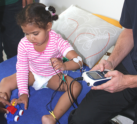 Stroke in children - Electrotherapy