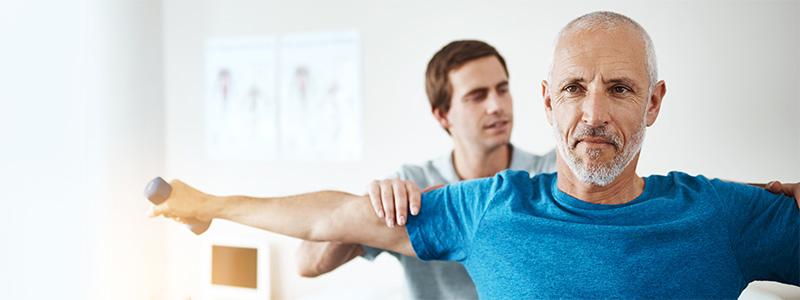 Behandlung/Therapie bei Muskelschwund