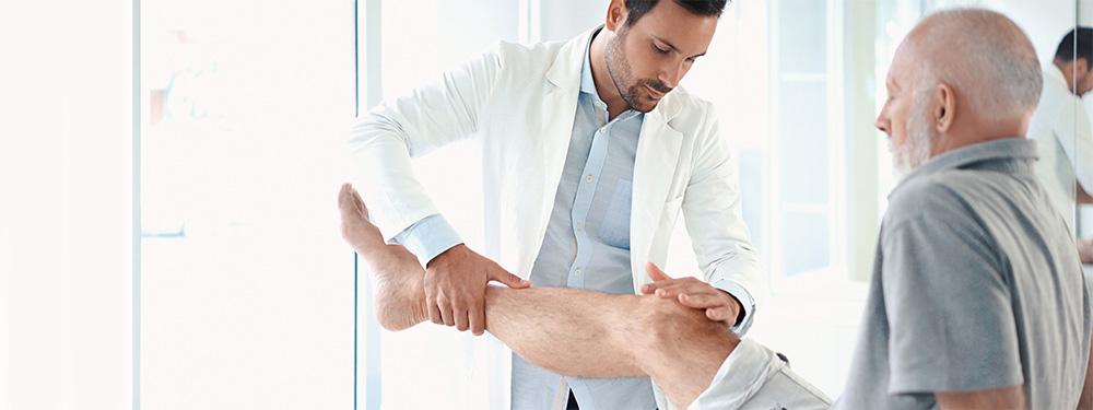 Diagnosis of a meniscus rupture