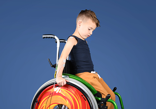 STIWELL therapy | arm extension / support (cerebral palsy, ICP)