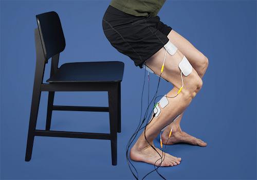 STIWELL Therapie | Sitzen - Aufstehen unilateral