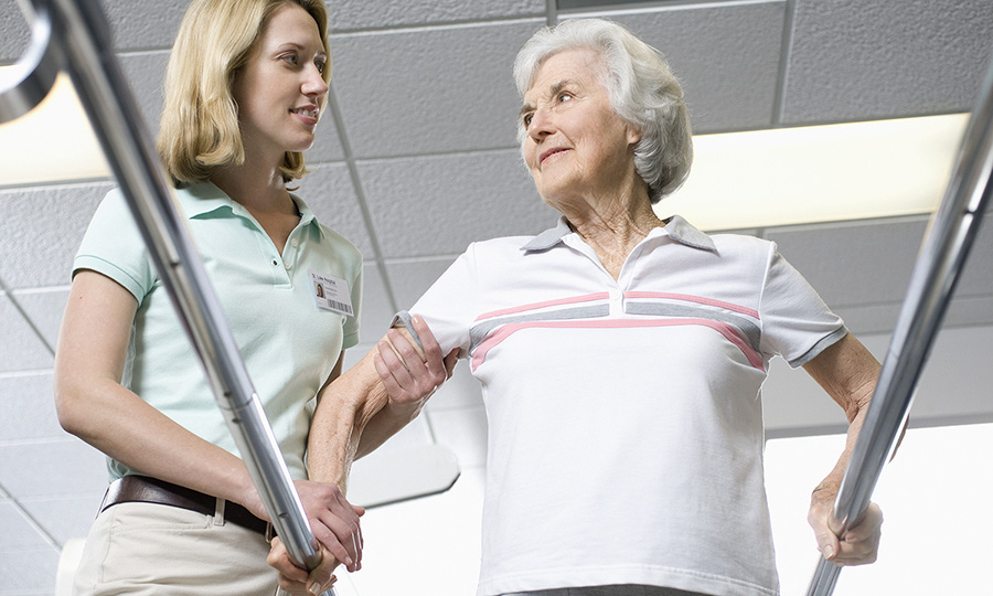 Physiotherapy after a stroke