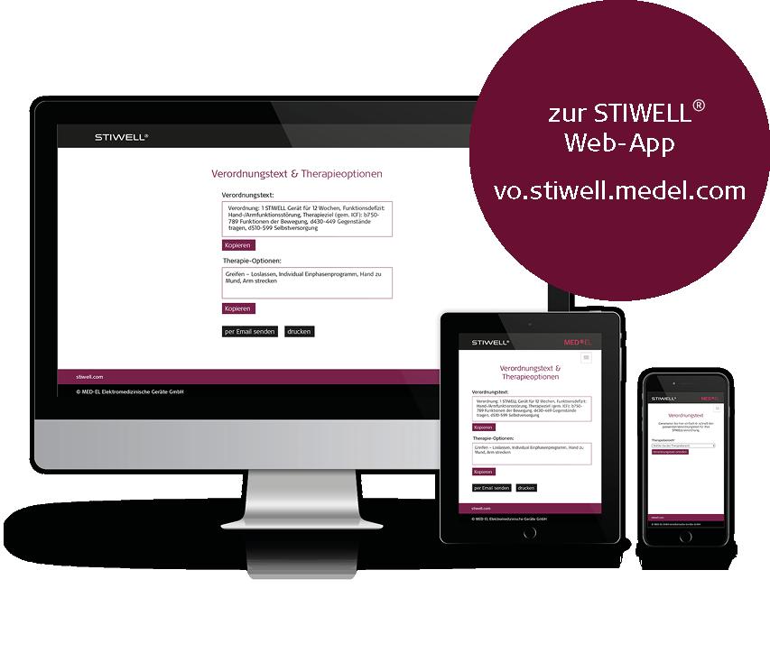 STIWELL Neurorehabilitation   ICF basierte Web-App   vo.stiwell.medel.com