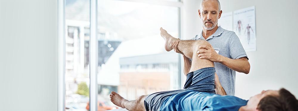 Meniscus rupture: therapy