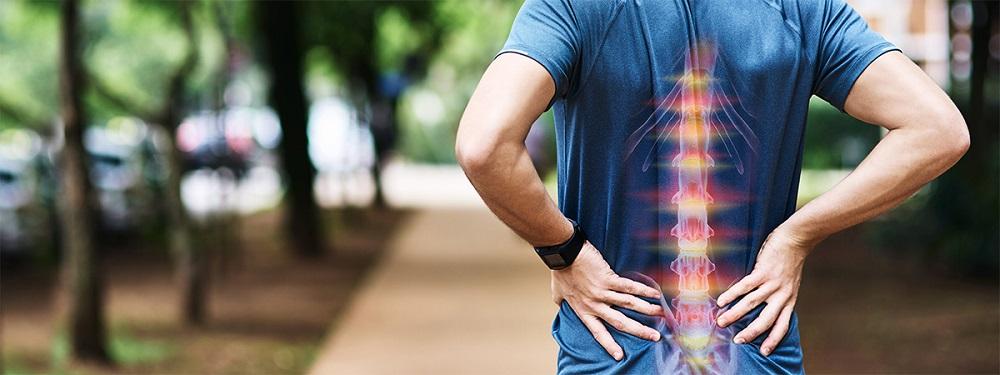 Symptome eines Bandscheibenvorfalls